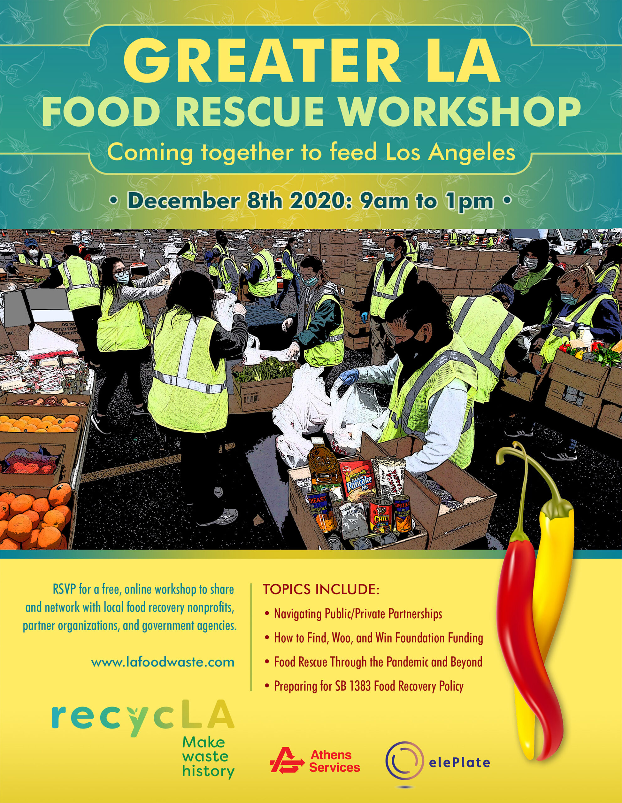 food rescue workshop LAFPC Dec 8 2020 event